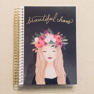 Creative Year Floral Crown Undated Mini Planner